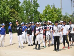 ソフトボール大会開会式(H25)